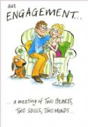 Humorous Engagement Greeting Card